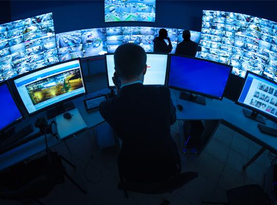 cctv monitor image